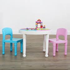 tot tutors table chair set tot tutors bright colors 2 in 1 plastic compatible kids