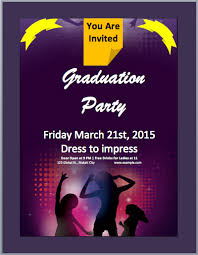 free party flyer templates for microsoft word 10 word party flyer