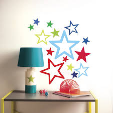 wallies peel and stick stars wall decal reviews wayfair wallies peel and stick stars wall decal