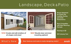 amazon com punch landscape deck and patio design v19 for