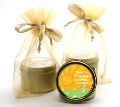 candle party favors you are my gold tin candle favors candles favors