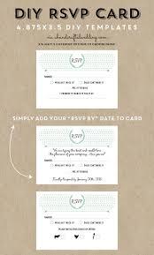 wedding invitations and rsvp cards free printable invitation design