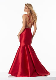 satin prom dress with sweetheart neckline style 99013 morilee