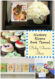 Nursery Rhyme Decorations 71 Best Nursery Rhyme And Storybook Themed Baby Showers Images On