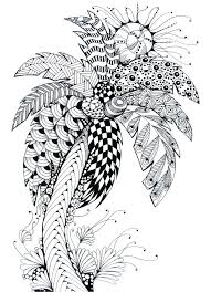 coloring pages for adults tree date palm tree coloring pages kids coloring adult coloring page