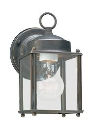 8592 71 one light outdoor wall lantern antique bronze