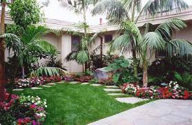 easy front yard garden ideas decorating clear