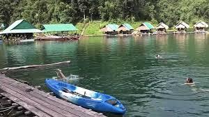 raft houses of cheow lan lake hd khao sok thailand ep 5