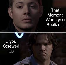 Make Own Meme - tried to make my own meme lol 2x15 tall tales supernatural sam