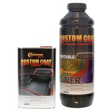 Bed Liner Spray Gun Custom Coat Tintable Base 1 Liter Textured Bedliner Kit