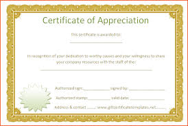 certificate of appreciation template sogol co