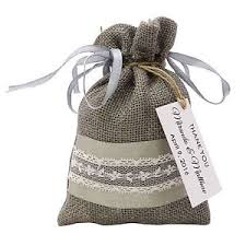 wedding favor bags wedding favor bag jute bags with personalized tag party favor
