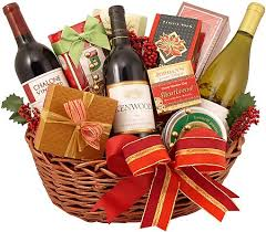 wine gift baskets christmas time and wine gift basket