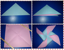 cara membuat origami kincir angin allaboutlynns membuat pinwheel atau kincir angin kertas
