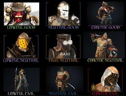 Alignment System Meme - i put a reasonable amount of effort into this for honor alignment