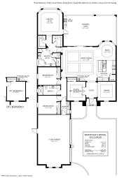 3 Car Garage Dimensions Montessa Ii Floorplan Stock