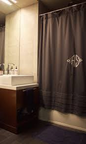 Monogrammed Bathroom Accessories by An Architect U0027s Cozy Corner In Chelsea Nyc