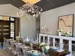Cheap Chandeliers For Dining Room Dining Room Lighting Designs Hgtv