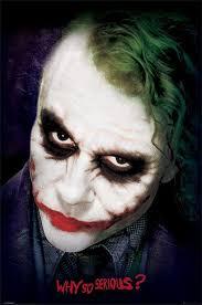 Joker Nurse Halloween Costume Batman Dark Knight Joker Face Official Poster Dc Comics