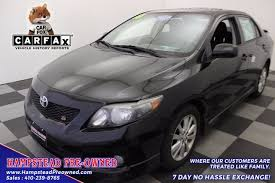 2010 toyota corolla s for sale 2010 toyota corolla s for sale in hstead md from hstead