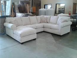 Custom Leather Sectional Sofa 30 Best Ideas Of Chenille And Leather Sectional Sofa