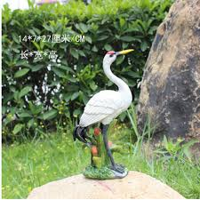 crafts resin animal artificial garden ornaments 1pcs lovely