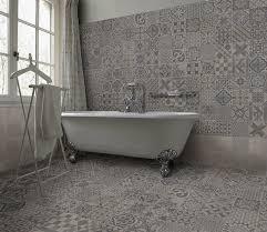 Grey Metro Bathroom Tiles Wall Tiles On Floor