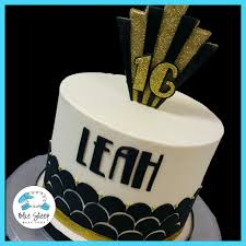 great gatsby sweet 16 birthday cake blue sheep bake shop