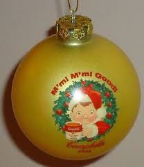 campbell soup advertising campbell kids christmas ball ornament