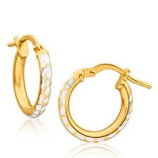 yellow gold earrings gold earrings shop earrings shiels jewellers