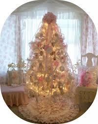 shabby chic christmas tree shabby chic decorating ideas shabby