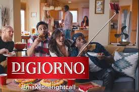 digiorno taps talent tv ad campaign leading