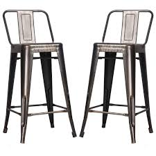 Outdoor Bar Stools Cheap Cool Outdoor Metal Bar Stools High Definition Decoreven
