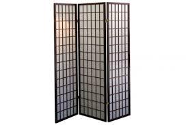Shoji Screen Room Divider by Room Dividers Shoji Screen Cherry Grid 3 Panel The Futon Shop