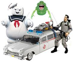 ecto 1 for sale ghostbusters figures ecto 1 car slimer stay puft figure