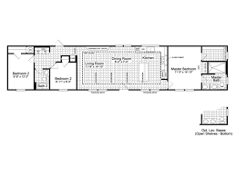 single home floor plans the santa fe ff16763g manufactured home floor plan or modular