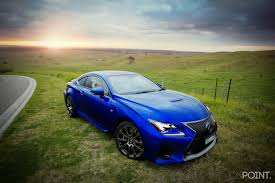 2015 lexus rcf blue onpoint