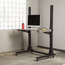 Desktop Computer Desk Rogue Stand Up Desk Rogue Supply Co