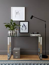 how to decorate your home with a glass console table