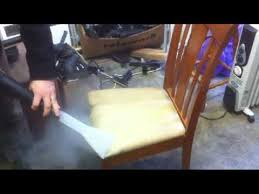 Steam Cleaner Upholstery How To Clean Upholstery Chairs Using The Sv7d Steam Cleaner Youtube