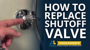stop valves for bathroom sink how to replace a shut off valve under your sink youtube