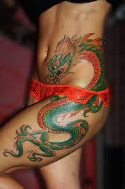 best 25 dragon tattoo on hip ideas on pinterest dragon tattoo