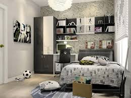 Chic Small Bedroom Ideas by Excellent Wall Shelving Unit For Chic Bedroom Ideas For Small