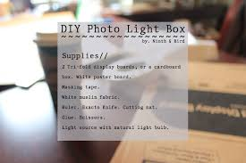 light boxes for photography display ninth and bird diy photo light box take better photos