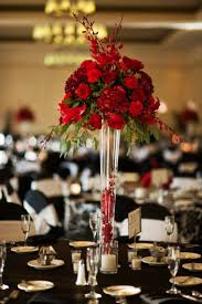 High Vases Best 25 Red Centerpieces Ideas On Pinterest Red Wedding