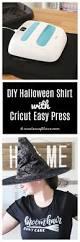 diy halloween shirt with cricut easy press create craft love