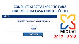 consulta sisoy beneficiaria bono mujer trabajadora 2016 consulte si estás inscrito para obtener una casa con tu cédula 2017 2018