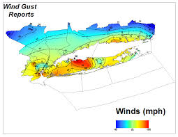Wind Speed Map Hurricane Sandy