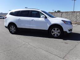 chevrolet traverse blue 2017 used chevrolet traverse lt 1 owner power seat and backup