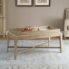 mirrored tray coffee table vanity decoration